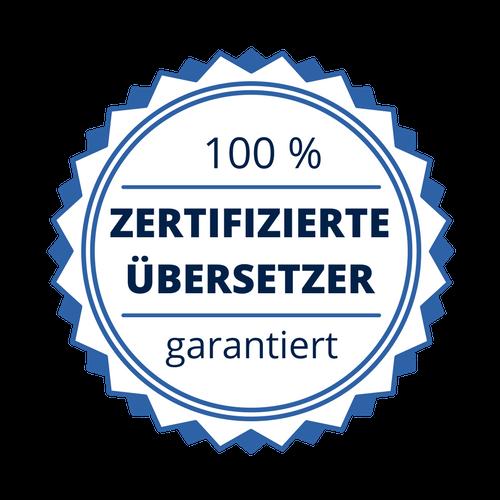 zertifizierte uebersetzer de