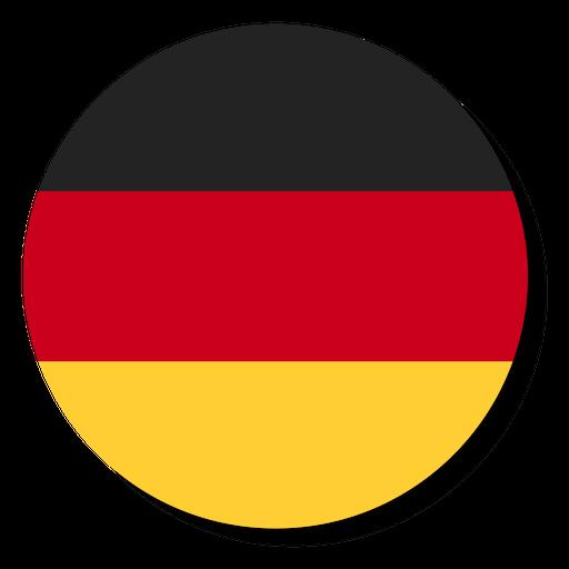 56f4034aadb54a8f811fe73fd9352813 bandera de alemania idioma icono c rculo by vexels