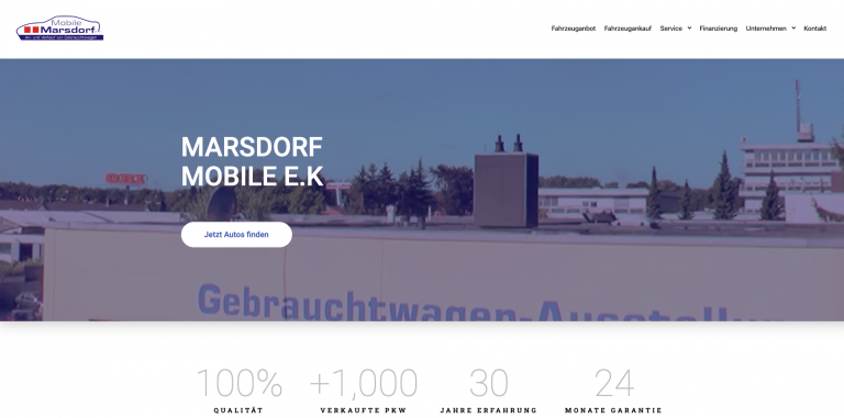marsdorf website