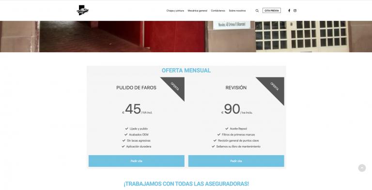 talleres grandeza web