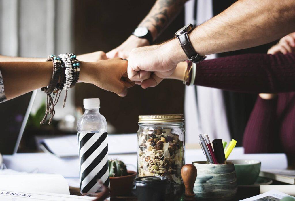 reunion de equipo agencia de marketing 1